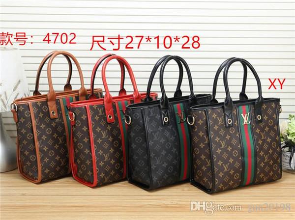 2019 stilleri Çanta Ünlü Adı Moda Deri Çanta Kadın Bez Omuz Çantaları Bayan Deri Çanta Çanta çanta # 4702