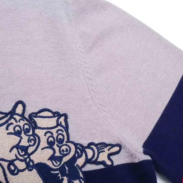 BURA Suéteres de marca para hombre Jersey de marca Suéter para hombre Serpiente Bordado Tejidos de punto Sudadera de diseñador de manga larga Ropa de invierno para hombre