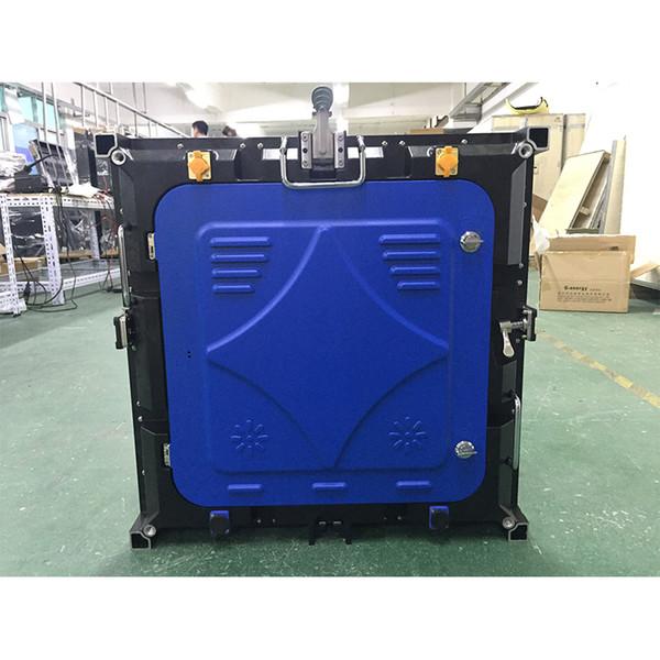 Le Cabinet extérieur imperméable de 576x576mm de P6mm des points 96x96 a mené l'affichage vidéo d'écran de panneaux de mur LED pour l'extérieur
