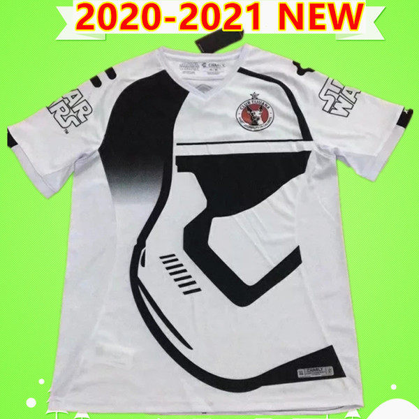 2020 2021 Mexico LIGA MX Club Tijuana Soccer Jerseys 20 21 White LUCERO RIVERO BOLANOS Adult kit football Shirt