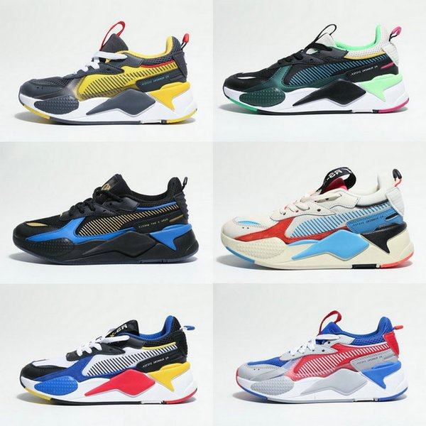 2019 New Creepers High Quality RS-X Toys Reinvention Shoes New Men Women Running Basketball Trainer Casual Sneakers Size 36-45