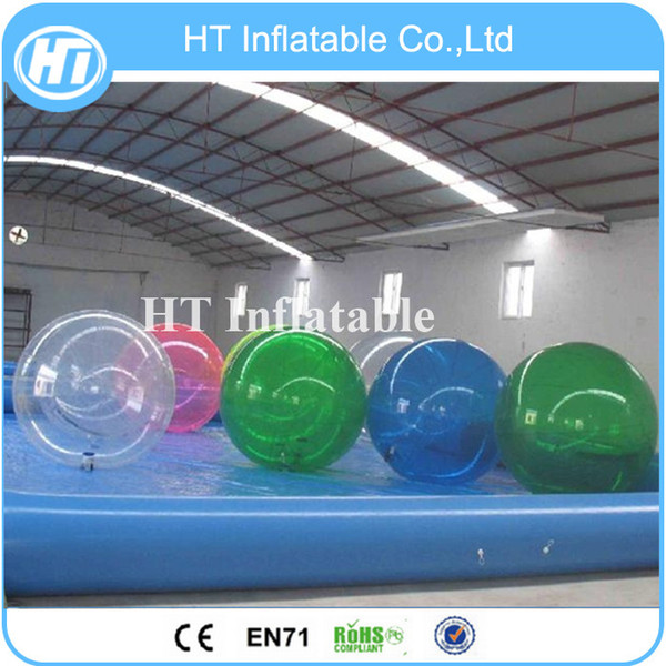 Free Shipping 6PCS Super Quality Water Bubble Ball/Water Walking Ball/Water Ball Free One Pump