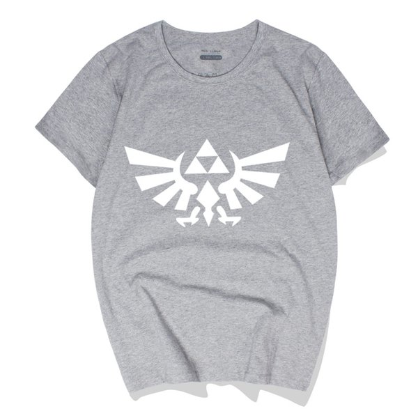 New fashion O-neck summer The Legend of Zelda movie game Cotton men's casual fashion trend short-sleeved T-shirt hip-hop T-shirt shirt