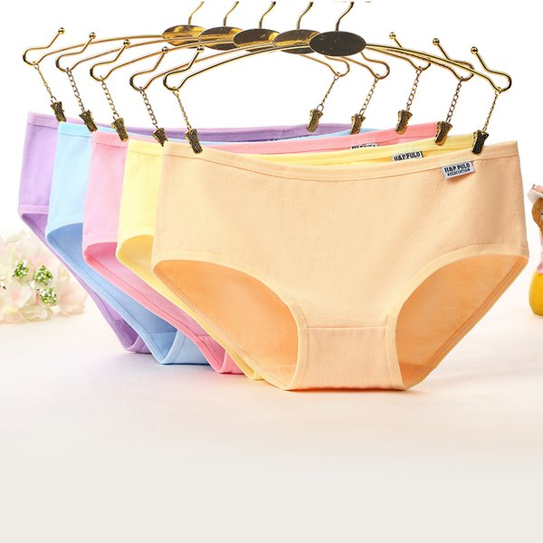 883ceb3197a Women s Cotton Panties Girl Briefs Ms. Cotton Underwear Bikini Underwear  Sexy Ladies Briefs Girl Plus