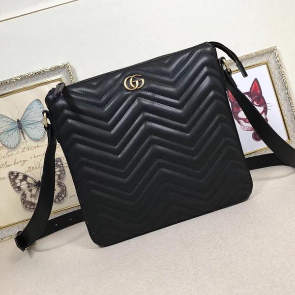 2019 Alta qualidade64 523369 29.27.3.3cm. França Mochila SACO de moda bolsas de grife Mulheres sacos de ombro bolsas de couro genuíno Livre Shiping