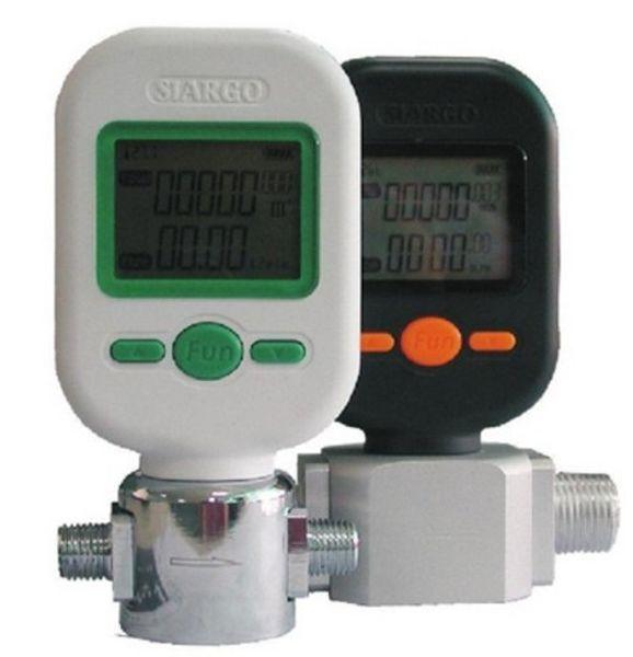 MF5706 Gas-Massendurchflussmesser Digitaler Gasdurchflussmesser Sensor Druckluft Digitalanzeige Meter 0-10L
