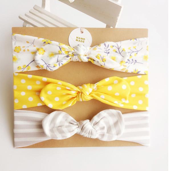 (3) corona kit para recém-nascidos linda faixa de cabelo de orelha de coelho faz acessórios para o cabelo do menino para a cabeça do menino
