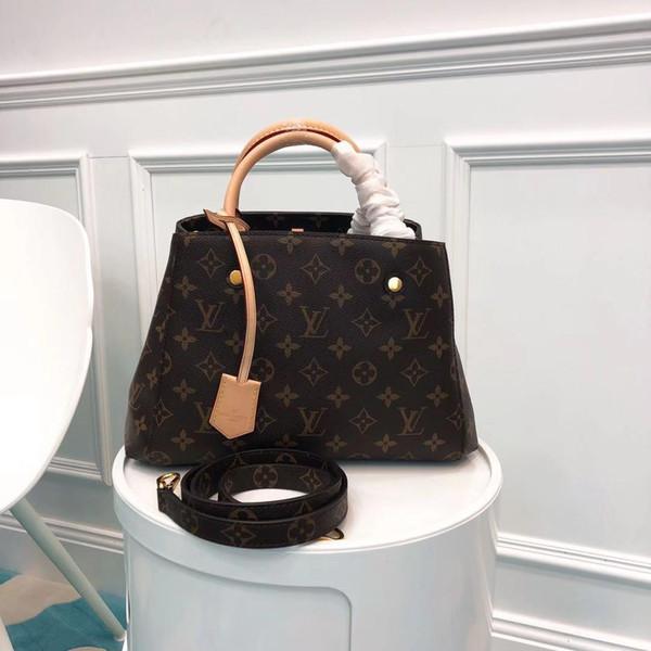 Bolsas de ombro bolsa de embreagem Crossbody saco Top Europeu de hot mulheres e bolsas americanas Shopping Bag Modelo M41055 29 x 19 x12cm