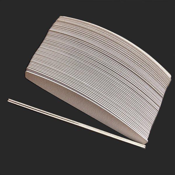Günstige Nageldateien Puffer 1 Stück Metallbasis mit 50 stück Removal Pads Zebra Ersatz Sandpapier Pads Einwegschleife