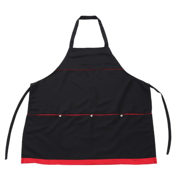 Salon Apron Hairdressing Cape for Barber Hair Cloth Cutting Dyeing Cape for Hairdresser Black W4460