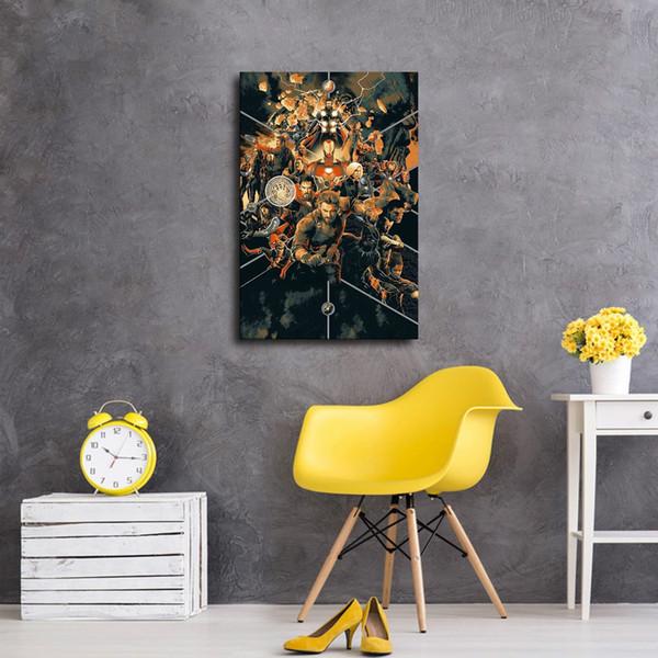 Poster HD HERO Canvas Print Dipinti casa della parete di arte Immagini