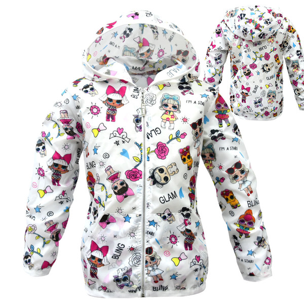Designer Clothes Baby Boy Girl Sun Protection Clothing Kid Summer Coat Cartoon LOL Clothes Toddler Spring Jacket Child Coats