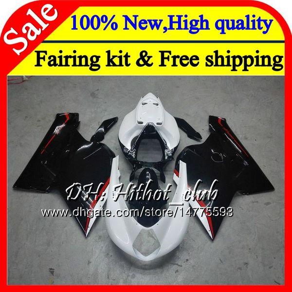 Body For MV Agusta F4 05 06 R312 750S 1000 R 750 1000CC 13HT18 1000R 312 1078 1+1 MA MV F4 2005 2006 Black white 05 06 Fairing Bodywork