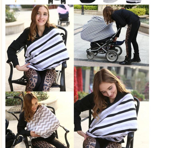 Marvelous 2019 2018Baby Feeding High Chair Cover Multifunctional 5 In 1 Baby Car Seat Cover Canopy Striped Infant Shopping Cart Nursing Cover From Free Life04 Spiritservingveterans Wood Chair Design Ideas Spiritservingveteransorg