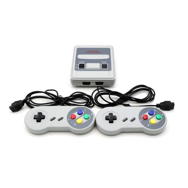 8e79bb962e43 Retro TV Video Game Console Handheld Game Player 620 Games For NES Classic  Games Children s SFC Game Console Dual Gamepad Coolbabygames