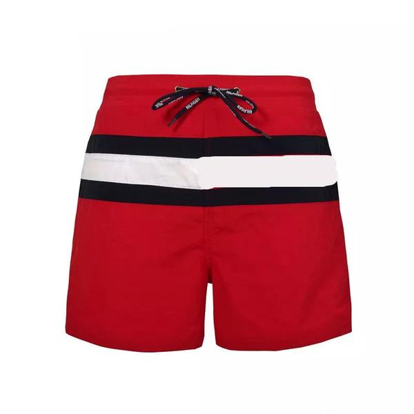 top popular New Fashion Mens Shorts Casual Solid Color Board Shorts Men Summer style Beach Swimming Shorts Men Sports Short 2019