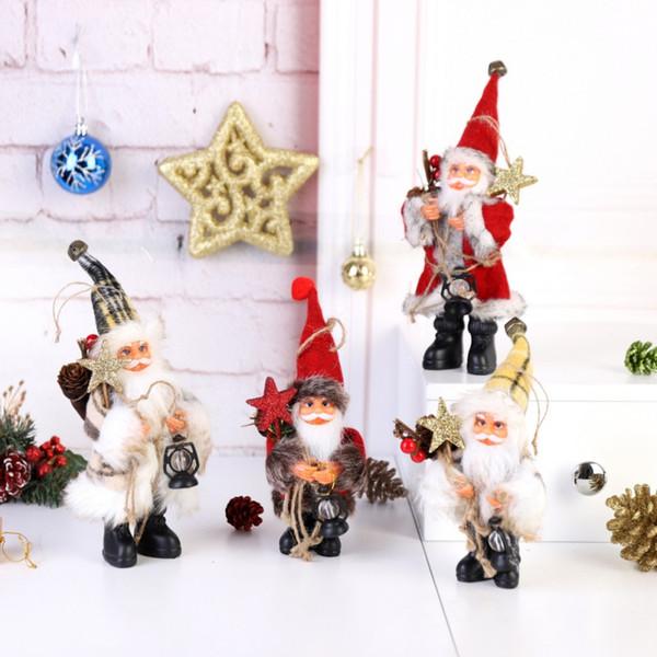 2019 новогодние елочные игрушки куклы деда мороза новогодние елочные украшения для дома елочные подарки