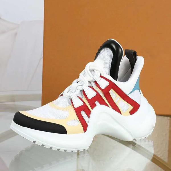 Sapatos de luxo Mais Novo ARCHLIGHT Homem de Alta Qualidade Sapatos Casuais Sapatos de Grife de Moda Tamanho 35-44 Modelo CX08