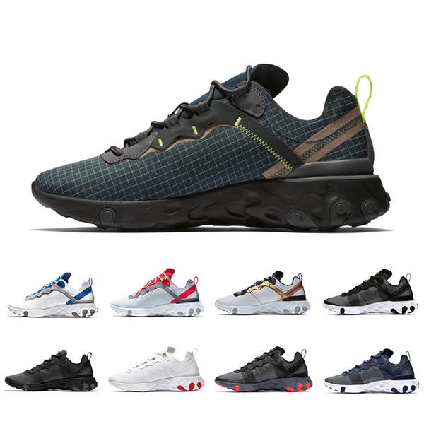Nike Element React 55 Schwarz Sports Großhandel Jade Epic Solar Für Damen Designer Laufschuhe Shoes Orange 2019 Pack Total Grid Herren nXNk80OwPZ