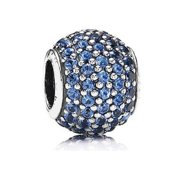 10pcs 925 Sterling Silver Screw Pink Effervescence Fizzle Murano Glass Beads Fit Pandora Charm Bracelets & Necklaces 893845022ZC
