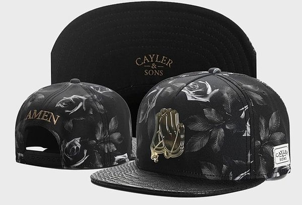 Floral Hip Hop Designer Hat Caps Mens Womens Baseball Cap for Man Fashion Flat Cap Adjustable Character Embroidery Hat 24 Color High Quality