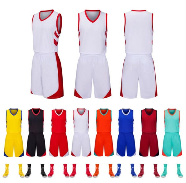 1bc2d04af597c 2018 Uniformes de basket-ball personnalisés enfants adultes costume de  balle adulte basket maillots de