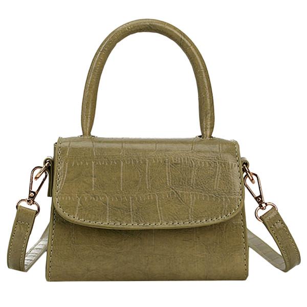 Bolsos de las mujeres Bolso de hombro de cuero sólido Moda Nueva bolsa de mensajero Bolsos de cuero de las mujeres Bolsos