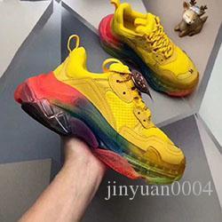 2020 nuova tripla S progettista basso per aiutare papà suole combinazione scarpe sportive scarpe stivali moda casual delle donne degli uomini di alta qualità c0417