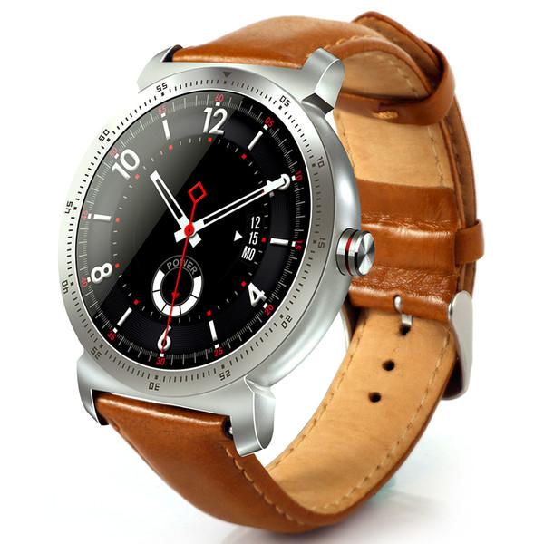 K88H Plus Montre Smart Watch IOS Android Moniteur de fréquence cardiaque Montre IPS Écran Rond Montre Smart Watch Horloge Android SmartWatch Téléphone