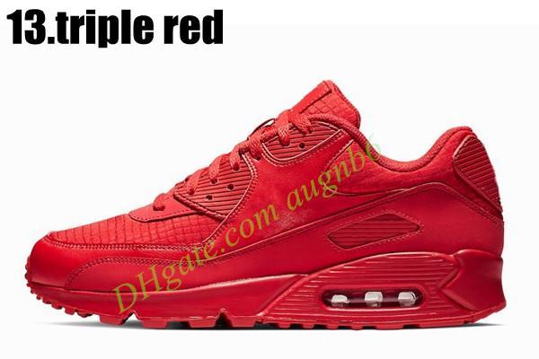 13.Triple roja