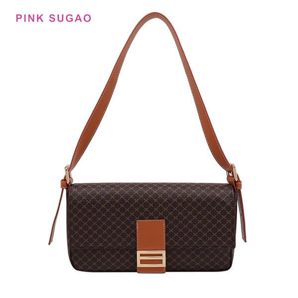 concepteur rose Sugao sac bandoulière femmes sac à bandoulière rétro vieux sac de grand-mère sac à main de fleurs en cuir PU petit sac à main