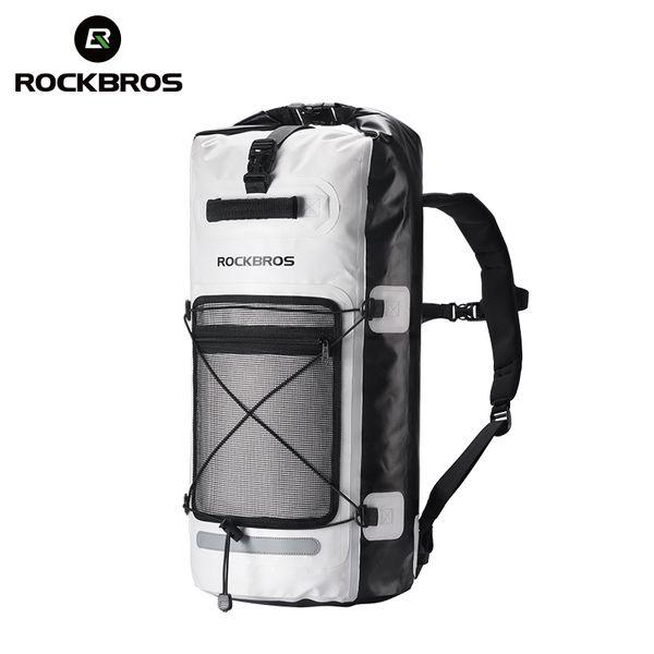 ROCKBROS велосипед багаж сумки водонепроницаемый Спорт на открытом воздухе Велоспорт туризм дорожная сумка портативный складной велосипед рюкзак #79640