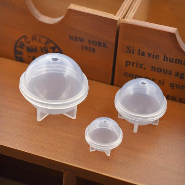 Molde de silicone para jóias bola redonda Resina Molde De Silicone artesanal Resina resina epóxi moldes tamanho diferente para selecionar