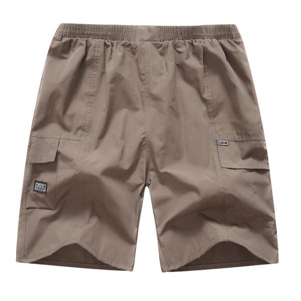 Erkekler Şort Nefes Elastik Bel Rahat Plaj Yaz NFE99 için Yarım Pantolon