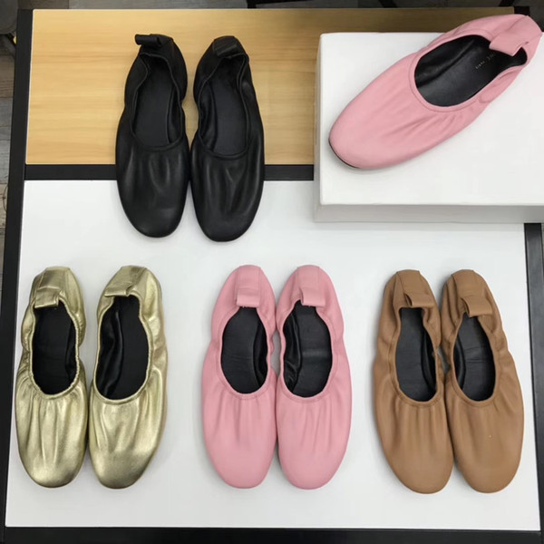 2019 News Woman Casual shoes Genuine Leather TOP Quality Designer Brands Fashion Designer Shoes Five Colors Free shipping worldwide