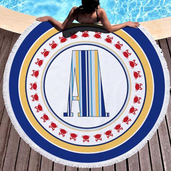 New 150*150cm soft beach towel high quality letter style summer beach towel for yoga mat and blanket 470g bath towe BT6003l