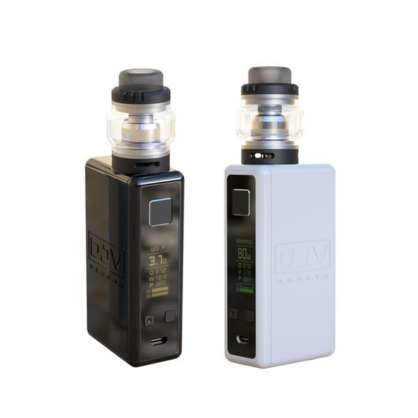 DEJAVU DJV NEON 80W Kit Ecig Electronic cigarette Original Authentic High Quality Case Packing DIY Vape Pro Kit