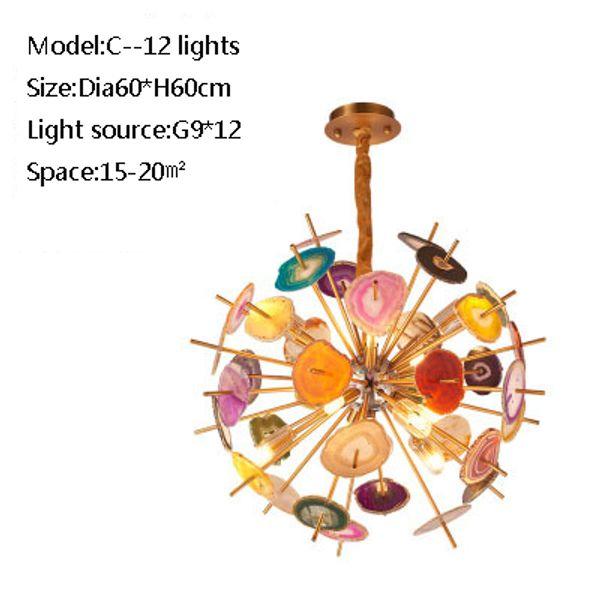 C 12 lights
