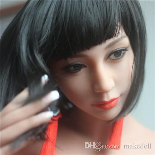 Muñecas japonesas de amor real Juguetes sexuales masculinos adultos Muñeca sexual de silicona completa Sweet Voicesoft vagina ass realista blow up doll juguetes sexuales realistas para