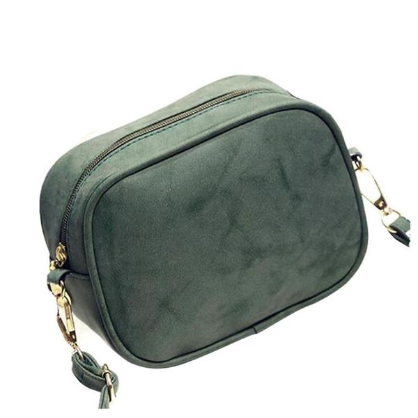 FGGS Buzlu messenger için Vintage PU deri çanta kadın retro debriyaj telefon kaleci Bayan Omuz Crossbody Çanta Bolsa Feminina