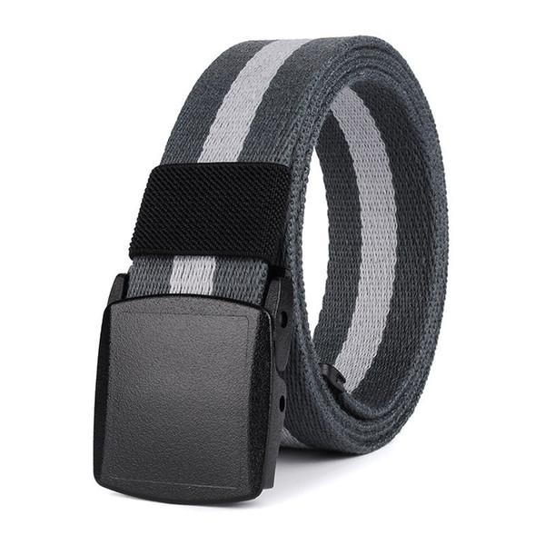 Fashion Women Casual Canvas Belt Buckle Belt Men Waistband Leisure Belt CA