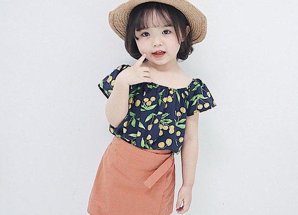 cc73baaf1 Summer 2019 fashion trend women's wear short sleeved tops princess cute  Korean version of children's t
