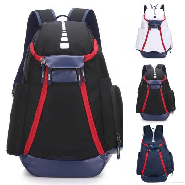 Nuevas mochilas de baloncesto Mochila del equipo nacional Bolsas para hombre Gran capacidad Capacitación impermeable Bolsas de viaje Bolsas al aire libre Bolsas de zapatos