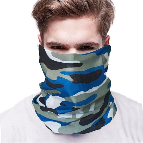 2020 Scarf Mask Windproof Cycling Masks UV Protection Face Mask Outdoor Climbing Hiking Ski Fishing Headwear Neck Scarf Masks