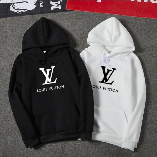 best selling 2019 Clothing Homme Hooded Sweatshirts Mens Women Brand Designer Hoodies High Street Supremo Print Hoodies t6Louis Vuittonbrand