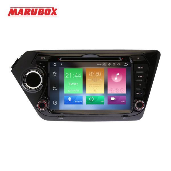 "MARUBOX Head Unit 2Din Android 8.0 4GB RAM 8"" For Kia Rio K2 2010-2015 Car Multimedia Player DVD GPS Navi Stereo Radio 8A200PX5"