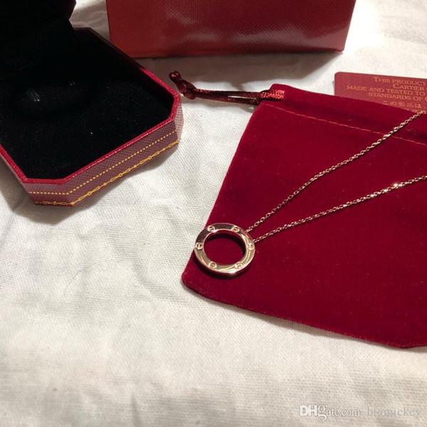 Aşk takı tasarımcısı kolye bayan lüks kolye sepeti tırnak elmas zincir Yaka moda Bijoux de dames orijinal kutusu
