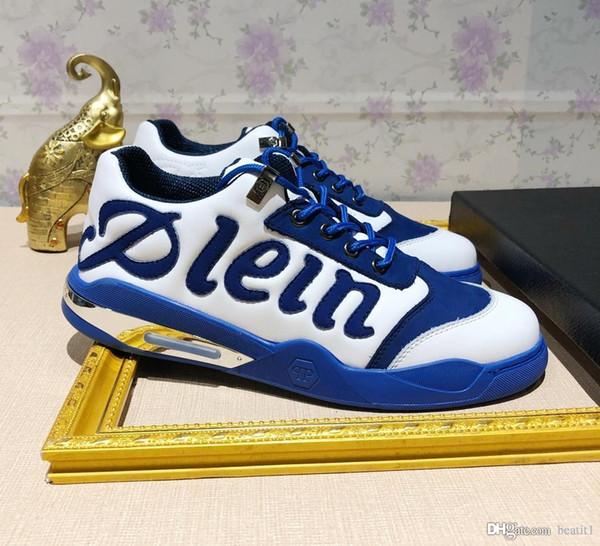 marca di lusso del progettista scarpe da ginnastica scarpa plein pp Philipp uomini EU38-EU45