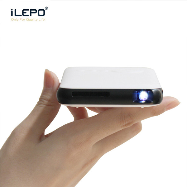 MINI DLP Projector Android7.1 Portable LED HD Streaming Tv Box Smart 1Gg 8G Quad Core RK3128 Wifi Bluetooth projector