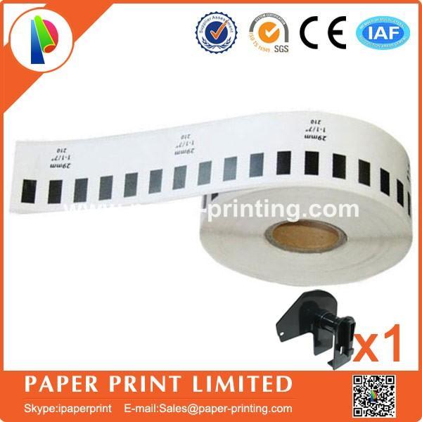 8 Nachfüllrollen kompatibles DK-22210 Etikett 29mm * 30.48M (Fortsetzung) Kompatibel für Brother-Etikettendrucker Weißbuch DK22210 DK-2210